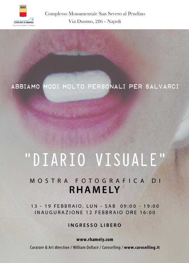 Diario Visuale | Rhamely | mostra fotografia Napoli