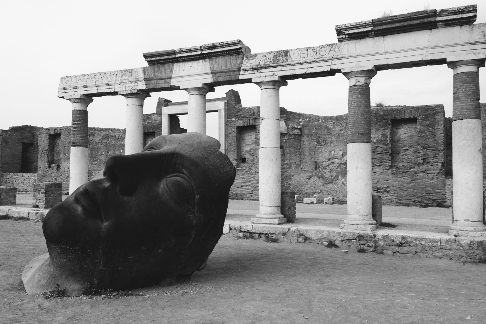 fotografia | arte | memoria | storia | pompei | bianco e nero | rhamely