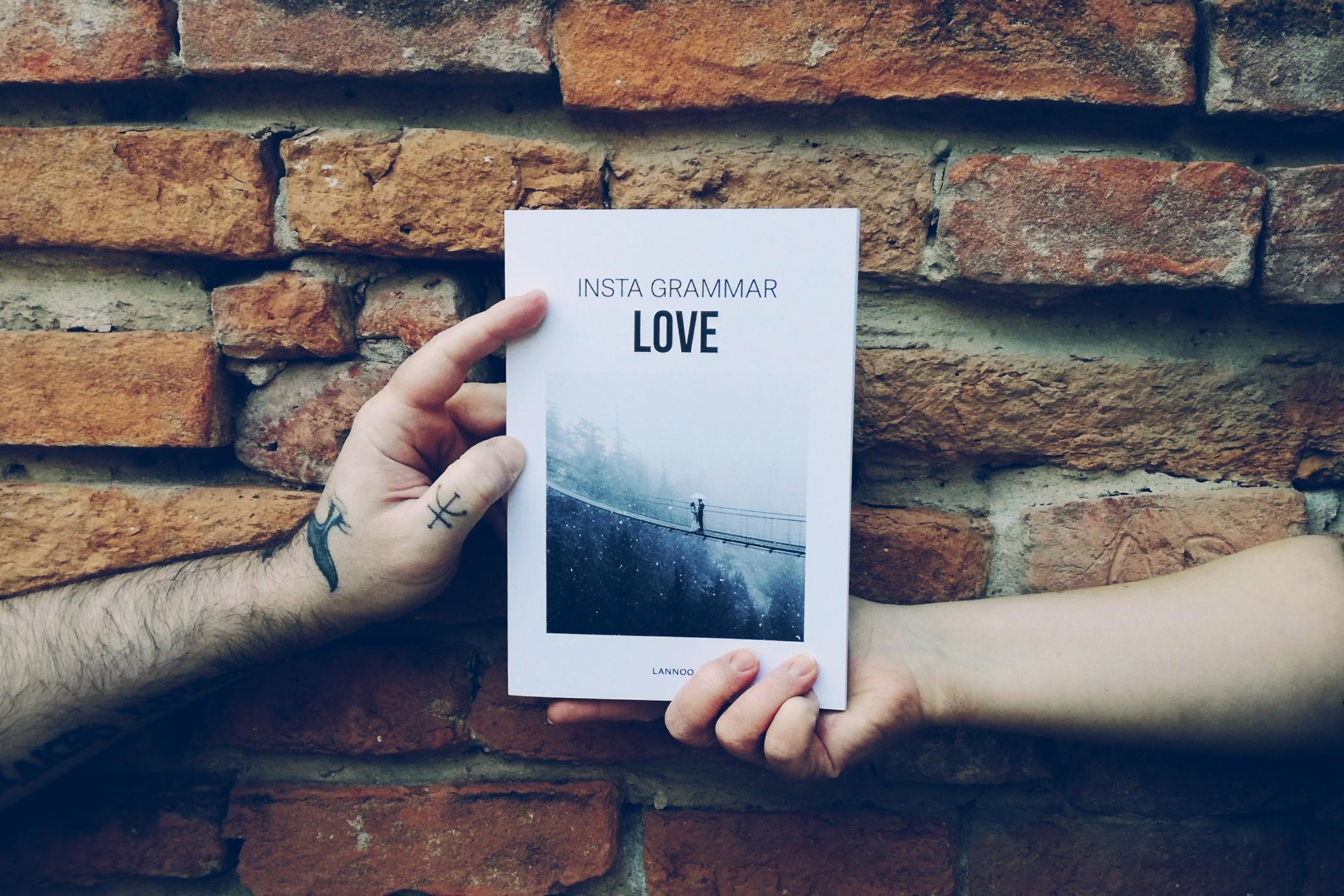 pubblicazione | fotografia | libro | Instagram | insta grammar love | Lannoo publishers | love