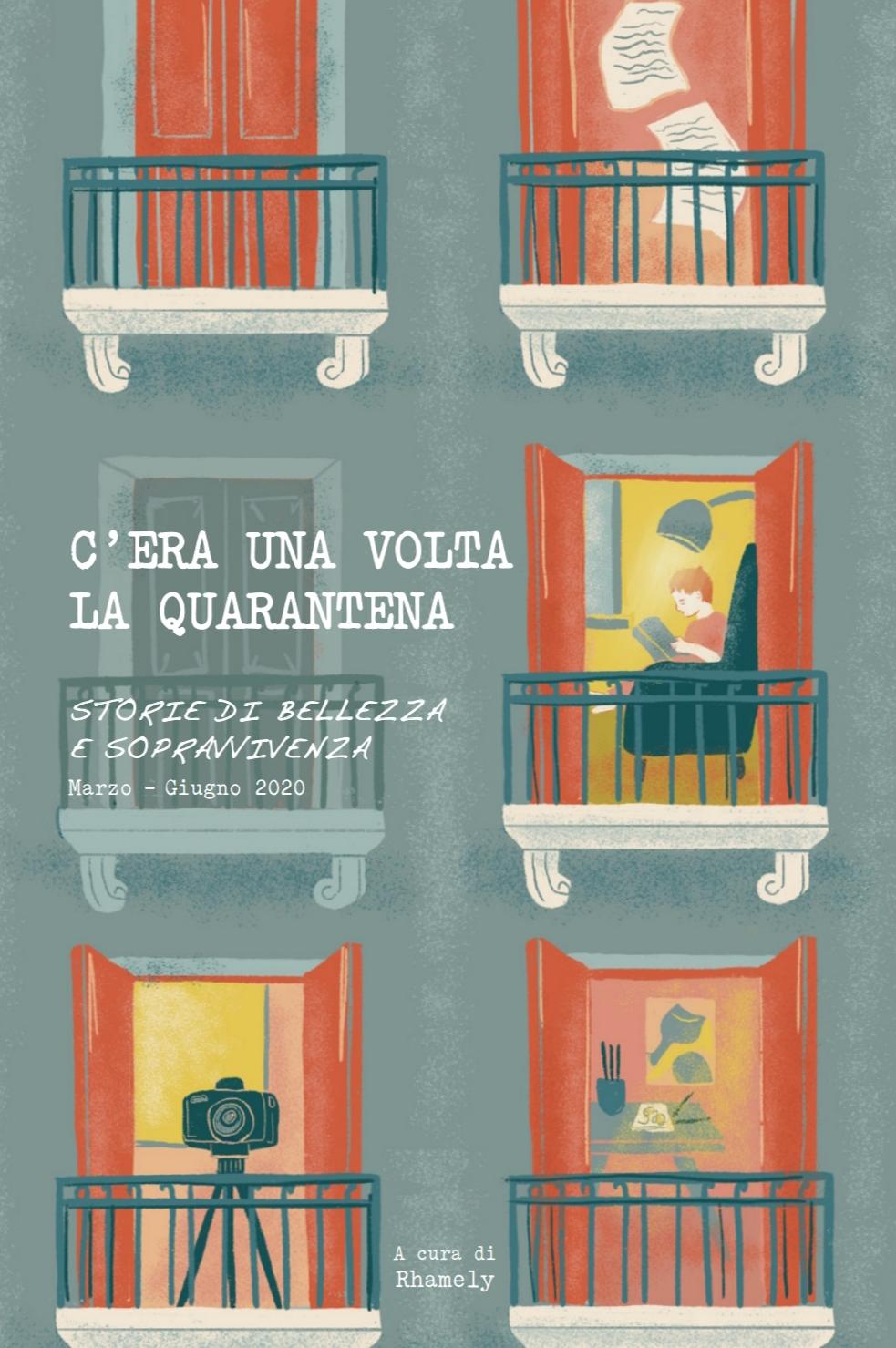 quarantena | libro | progetto | rhamely | auca design